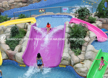 चीन Fiberglass kids residential pool slide for water play / children water slides आपूर्तिकर्ता