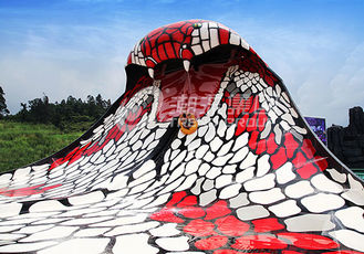 चीन King Cobra Fiberglass Water Slides With The Slide Length Of 112m for Water Park आपूर्तिकर्ता