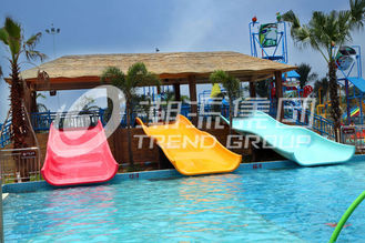 चीन Commercial Water Park Equipment Fiberglass Water Slides for Swimming Pool आपूर्तिकर्ता