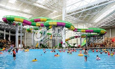 चीन Aquatic Playground Equipment , Large Water Slides Capacity for Family Fun in Big Water Park आपूर्तिकर्ता
