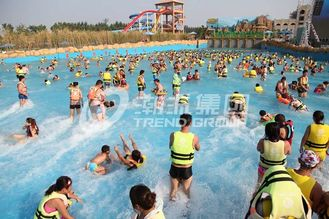 चीन Attractive Water Park Wave Pool / Aqua Park Wave Pool Equipment आपूर्तिकर्ता