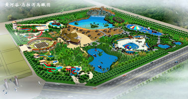 चीन Fiberglass Water Slide Tubes Amusement Park Games / Customized Water park आपूर्तिकर्ता