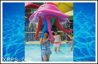 चीन Customized Aqua Play, Octopus Spray, Fiberglass Spray Park Equipment For Children आपूर्तिकर्ता