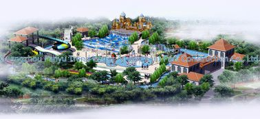 चीन Waterpark Conceptual Design, Water Parks Design / Customized Water Park आपूर्तिकर्ता