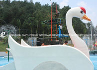 चीन Customized Fiberglass Small Water Pool Slides Designed For Water Park Games फैक्टरी