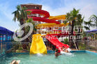 चीन Customized Family Aqua Park Slides Outdoor Fiberglass Water Slide For Amusement Park कंपनी