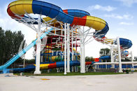 चीन Family Rafting Aqua Park Fiberglass Waterpark Slide 6 Person/time कंपनी