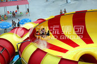 चीन Adult Long Big Water Slides For Amusement Park / Space Bowl Water Slides 180riders/H Capacity फैक्टरी