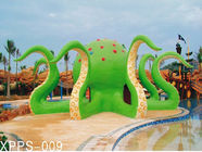 चीन Colorful Octopus Water Playground Equipment 6100*6100*5000 For Family Recreation कंपनी