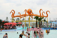 चीन Customized 8m Height Octopus Spray  For Aqua Water Playground Equipment कंपनी
