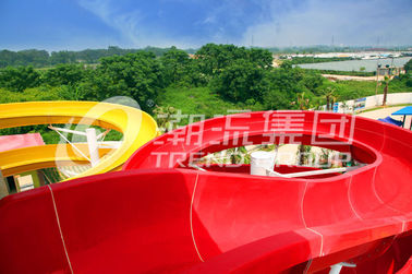 चीन Red Giant Family Commercial Custom Water Slides Fiberglass Material फैक्टरी