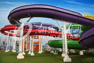 चीन Outdoor Custom Water Slides Spiral Water Slide For Adults And Kids फैक्टरी