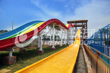चीन FPR Custom Water Slides OEM Extreme Water Slide With High Speed फैक्टरी