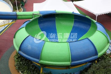 चीन Theme Park Slides Space Bowl Water World Water Playground Equipment for Resorts / Hotel फैक्टरी