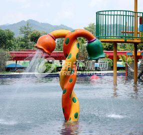 Customized Funny Spray Park Equipment For Children / Kids in Swimming Pool