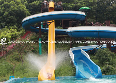 चीन General Water Park Item Custom Water Slides High Speed With 120 Riders / H Capacity फैक्टरी