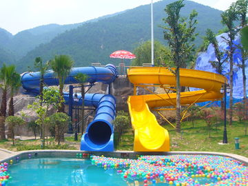 चीन Custom Combination Fiberglass Kids Water Slides for Theme Water Park फैक्टरी