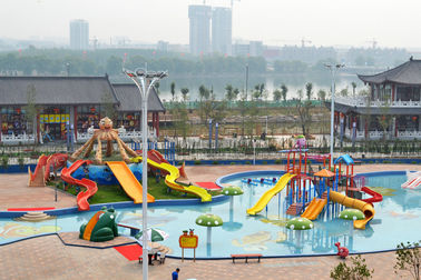 Amusement Waterpark Project, Gaint Water Park Equipment Kids Theming Water Park Slide