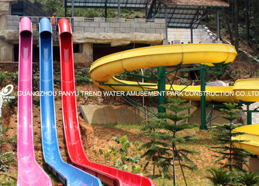 चीन Ashland / DSM FRP High Speed Custom Water Slide General Water Park Item for Water Park फैक्टरी