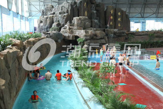 Outdoor Holiday Resorts Lazy River Water Park Attractive Project For Water Park