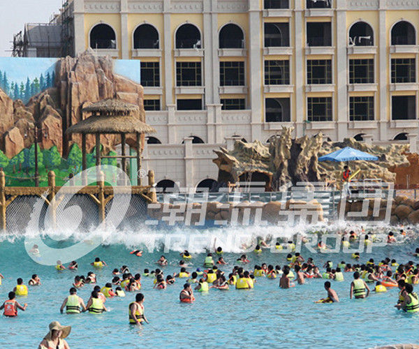 Customized Pneumatic Wave Generation For Wave Pool With 5000 SQM