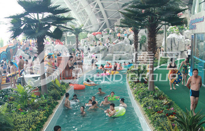 Gaint Water Park Lazy River Equipment / Water Games Playground Equipment