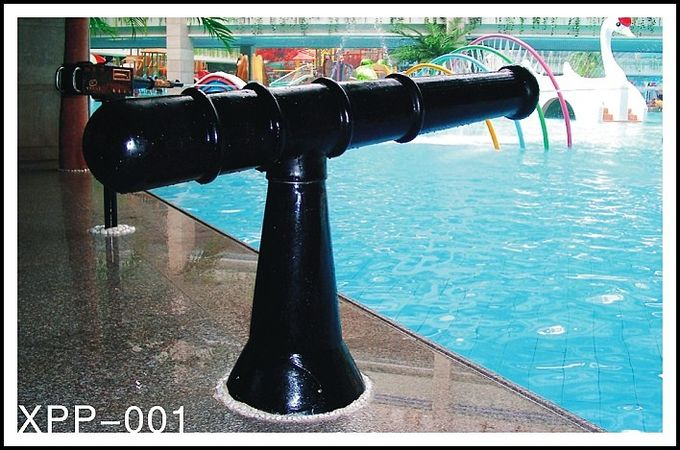 Fiberglass Aqua Park Equipment Water Spray System For Kids / Adults